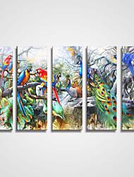 キャンバス地プリント 5枚 キャンバス 横式 プリント 壁の装飾 ホームデコレーション