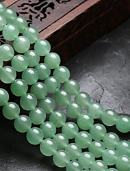 cheap -DIY Jewelry 48 pcs Beads Crystal Green Round Bead 0.8 DIY Bracelet Necklace