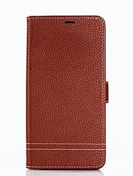 Недорогие -Кейс для Назначение SSamsung Galaxy S8 Plus S8 Бумажник для карт Кошелек со стендом Флип Чехол Сплошной цвет Твердый Кожа PU для S8 Plus