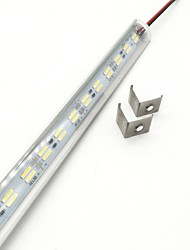 cheap -ZDM® 0.5m Rigid LED Light Bars 72 LEDs 5730 SMD 1x Hard Light Strip Warm White / Cold White 12 V 1pc