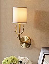 economico -Pretezione per occhi Vintage Per Camera da letto Metallo Luce a muro 220V 40W
