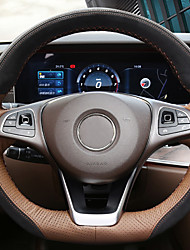 Недорогие -автомобильные крышки рулевого колеса (кожа) для mercedes-benz все годы e class