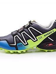 baratos -Homens sapatos Camurça Inverno Botas de Neve Botas Botas Cano Médio para Casual Preto Azul Verde Escuro