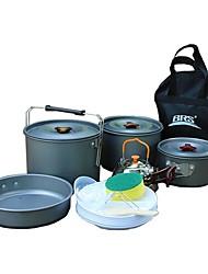 economico -Pentola da campeggio Attrezzi cucina all'aperto Indossabile Acciaio inossidabile per Campeggio