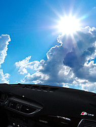 Недорогие -автомобильный Маска для приборной панели Коврики на приборную панель Назначение Audi Все года A7