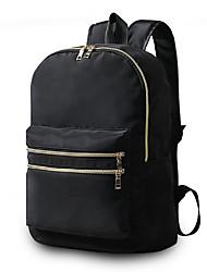Недорогие -Жен. Мешки Нейлон рюкзак Молнии для на открытом воздухе Все сезоны Синий Черный Серый