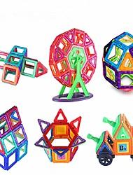 baratos -Blocos Magnéticos / Blocos de Construir 190pcs Transformável / Clássico Para Meninos Dom
