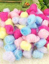 Недорогие -Хлопко-полимерная смешанная ткань Портативные Чистка Пурпурный Зеленый Синий Розовый Радужный