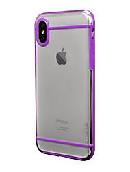 Θήκη Za Apple Otporno na trešnju Mutno Kućište Jedna barva Tvrdo PC za iPhone X iPhone 8 Plus iPhone 8 iPhone 7 Plus iPhone 7