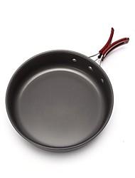 Недорогие -Походная сковорода Все для приготовления пищи на улице Пригодно для носки Нержавеющая сталь на открытом воздухе за Походы Черный