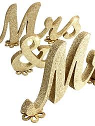 billiga -Bröllop / Speciellt Tillfälle Trä Akrylfiber Bröllop Dekorationer Klassisker Tema Alla årstider