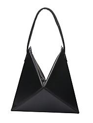 cheap -Women's Bags PU Shoulder Bag Pocket Black / Red / Blushing Pink