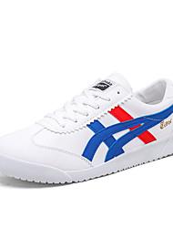 abordables -Homme Chaussures Polyuréthane Printemps / Automne Confort Basket Gris / Noir et Or / Blanc / Bleu