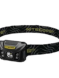 cheap -Nitecore NU30 Headlamps LED 400 lm Manual Mode XP-G2 With Ties Portable Water Resistant / Water Proof Lightweight Power Saving Function