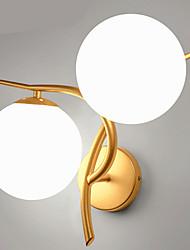 abordables -Protección para los Ojos Moderno/Contemporáneo Lámparas de pared Para Dormitorio Metal Luz de pared 220v 40W