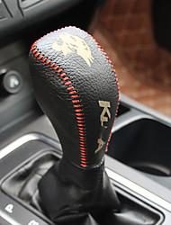 Недорогие -крышка ручки для автомобильной трансмиссии (кожа) для ford 2017 kuga