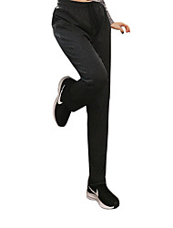 cheap -Women's Running Pants Anti-Slip Quick Dry Windproof Breathability Bottoms Exercise & Fitness Running Mountain Bike/MTB Nylon Black Grey S