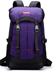 cheap -35-55 L Hiking & Backpacking Pack Hiking Climbing Camping All-mountain Waterproof Zipper Travel Breathability Nylon