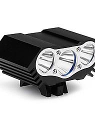 Недорогие -LED подсветка Светодиодная лампа Велоспорт Скорость LED освещение Защита от влаги 12000 Люмен USB Натуральный белый