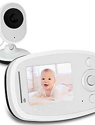 cheap -2.4G Wireless Video Baby Monitor with HD Camera Infrared Night Vision Two-way Talk System
