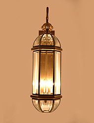 cheap -Mini Style Traditional/Classic Wall Lamps & Sconces For Bedroom Study Room/Office Metal Wall Light 110-120V 220-240V 40W