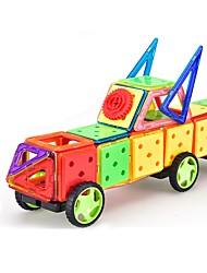 Недорогие -Конструкторы Магнитный блок 188pcs Круглый Квадратный Автомобиль трансформируемый Специально разработанный Взаимодействие родителей и