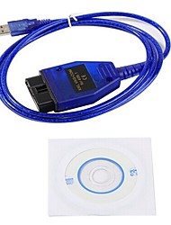 abordables -obd2 / obdii vag 409 usb 409.1 usb kkl interfaz de cable vag 409 kkl usb obd interfaz de diagnóstico para audi vw vag com descrip