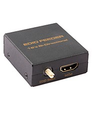 abordables -HDMI 1.3 HDMI 1.4 HDMI 2.0 Adaptateur, HDMI 1.3 HDMI 1.4 HDMI 2.0 to HDMI 1.3 HDMI 1.4 HDMI 2.0 Adaptateur Mâle - Femelle 4K*2K Cuivre