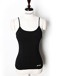 preiswerte -Damen mit Riemchen Funktions-Unterhemden - Schwarz, Dunkelgrau, Rose Rot Sport Tank Tops Yoga, Fitness, Fitnessstudio Sportkleidung Atmungsaktivität Dehnbar