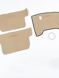 cheap -Automotive Floor Mat Car Interior Mats For Toyota 2010 2011 2012 2013 2014 2015 2016 2017 Prado Leather