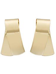 cheap -Women's 1pc Stud Earrings Hoop Earrings Ethnic European Alloy Irregular Jewelry Gold Wedding Daily Costume Jewelry