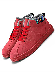 cheap -Men's Shoes PU Spring Fall Comfort Sneakers for Casual Black Gray Red Light gray