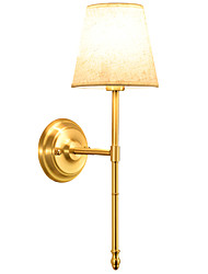 cheap -Wall Light Ambient Light Wall Sconces 40W 220V E14 Country Brass