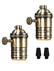 billige -OYLYW 2pcs E26 / E27 Bulb tilbehør Lysstik Metallisk