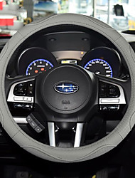 cheap -Automotive Steering Wheel Covers(Leather)For universal All years General Motors