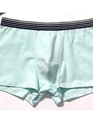 cheap -Men's Inelastic Polka Dot Briefs Underwear Medium,Cotton One-piece Suit Light gray Light Blue Fuchsia Light Green Gray