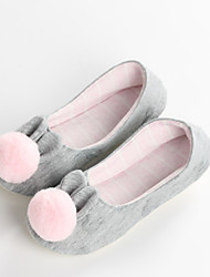 cheap -House Slippers Women's Slippers Cotton Polyester