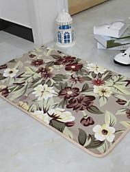 baratos -tapete de banho vintage poliéster retângulo criativo