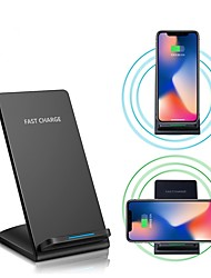 Недорогие -Быстрое зарядное устройство 10w для iphone xs iphone xr xs max iphone 8 samsung s9 plus s8 примечание 8 или встроенный qi приемник смартфон
