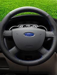 Недорогие -автомобильные крышки рулевого колеса (кожа) для ford все годы escort mondeo ecosport edge