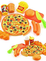 cheap -Toy Kitchens & Play Food Toy Round Food&Drink Parent-Child Interaction Exquisite Soft Plastic Kid's Gift 1pcs