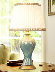abordables -Traditionnel/Classique Décorative Lampe de Table Pour Salle à manger Céramique Blanc