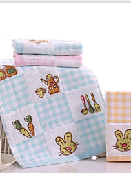cheap -Fresh Style Wash Cloth, Floral Superior Quality 100% Cotton 100% Cotton Percale Towel