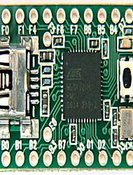 Недорогие -teensy2.0usb avr arduino доска разработки клавиатура и мышь isp u диск экспериментальная плата mega32u4