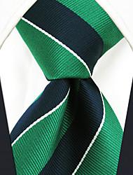 Недорогие -мужская работа случайный районный галстук полосатый цветной блок, основной