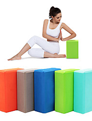 cheap -Yoga Blocks EVA Yoga Pilates Gym Women's Children's Unisex Sky Blue Green Blue Pink Violet
