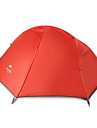 baratos -Naturehike 1 Pessoa Tenda Dupla Camada Barraca de acampamento Ao ar livre Barracas de Acampar Leves Á Prova-de-Chuva / Secagem Rápida / A
