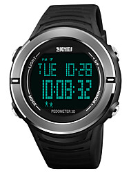 cheap -SKMEI Men's Digital Watch Sport Watch Japanese Digital Alarm Chronograph Water Resistant / Water Proof Stopwatch PU Band Casual Fashion