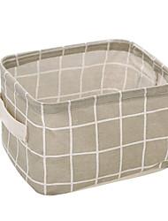 cheap -Padded Fabric Linen/Cotton Creative Kitchen Gadget Storage Boxes 1pc Kitchen Organization