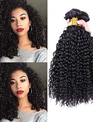 abordables -4 offres groupées Cheveux Brésiliens Ondulation profonde Cheveux Vierges Tissages de cheveux humains / Portefeuilles & Accessoires / Appareils de Massage Tissages de cheveux humains Extensions de